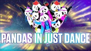 Pandas In Just Dance