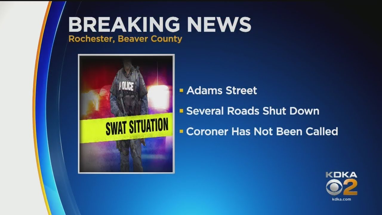 Download SWAT Team Surrounds Home In Beaver County