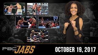 PBC Jabs: October 19, 2017