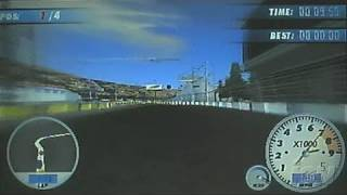 Juiced: Eliminator Sony PSP Gameplay - Pedal to the Floor