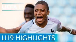 Mbappe scores for France Under-19s