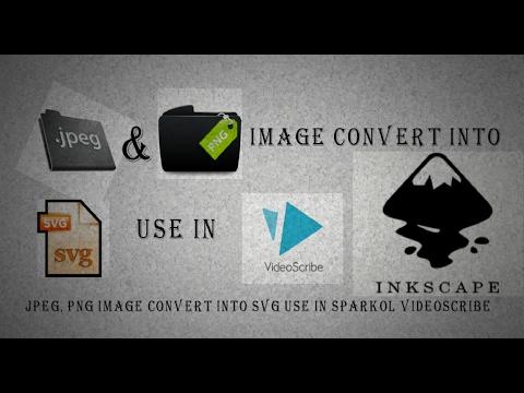 JPEG, PNG Image convert into SVG use in sparkol videoscribe [Hindi & Urdu]