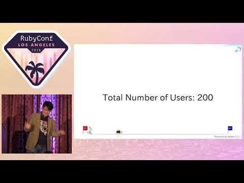 RubyConf 2018 - Opening Keynote by Yukihiro Matsumoto 'Matz'