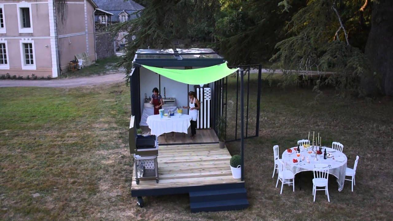 un cube dans mon jardin la fete youtube. Black Bedroom Furniture Sets. Home Design Ideas