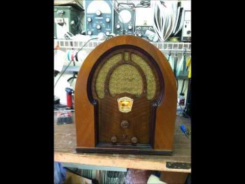 Philco 71B Cathedral Radio Restoration Slideshow