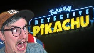 Detective Pikachu Trailer Reaction!!! It looks AMAZING!!!