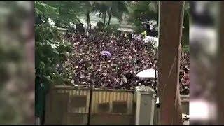 Salman Khan Fans Outside His House After Blackbuck Case Verdict