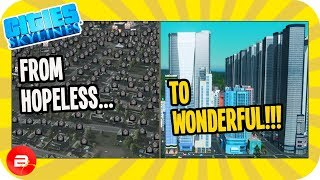 When City Planning makes a TERRIBLE city AMAZING!!! (Cities: Skylines Bad Mayor Challenge)
