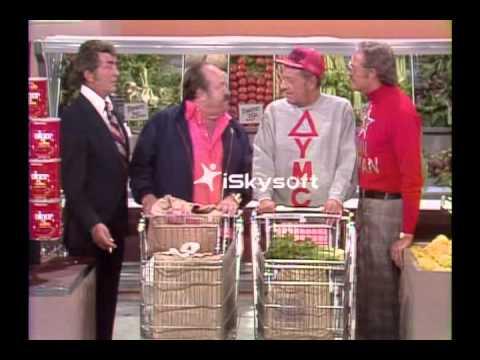Dean Martin, William Conrad, William Holden & Dan Rowan  Supermarket