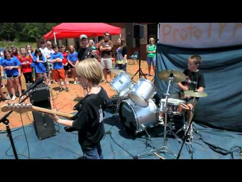 The Prototype Live at High Shoals Elementary School debut gig