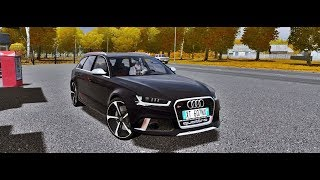 City Car Driving - Audi RS6 C7 4.0 TFSI AVANT 2016 | + Download [ LINK ] | 1080p & G27