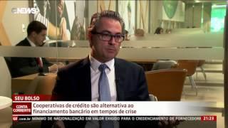 Reportagem GloboNews sobre cooperativismo de crédito