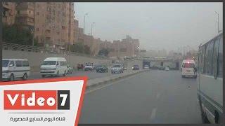 خريطة الحالة المرورية بالقاهرة الكبرى مساء اليو