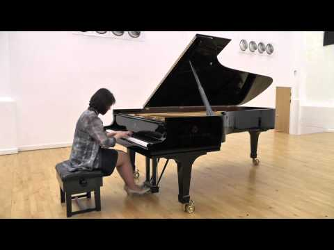 Kirsten Johnson performs 'Clowns' by Kabalevsky