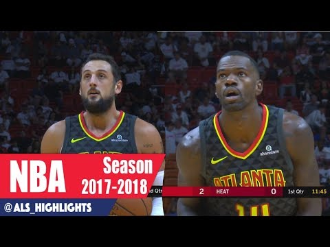 Marco Belinelli & Dewayne Dedmon Full Highlights 2017.10.01 at Heat - 22 Pts Combind In Their Debut!