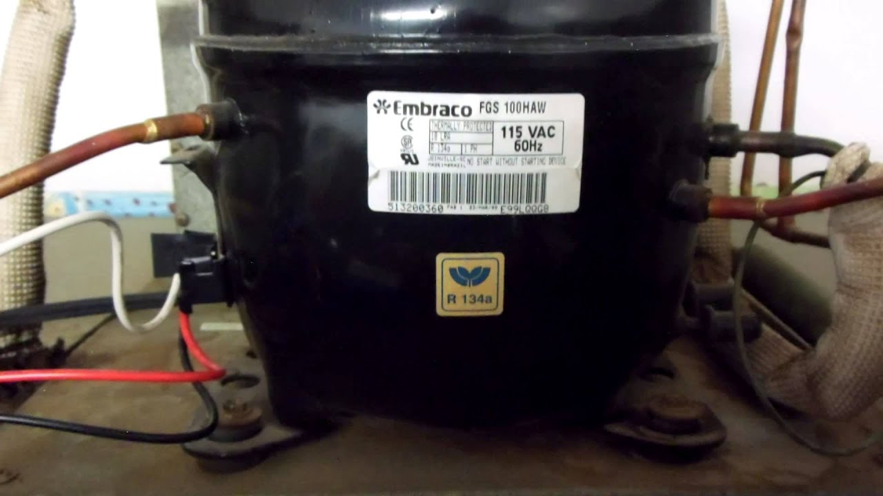 How To Wire In A Rc-0210 Hard Start Kit On A 115 Volt Embraco Compressor