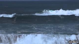 Waimea Bay High Surf