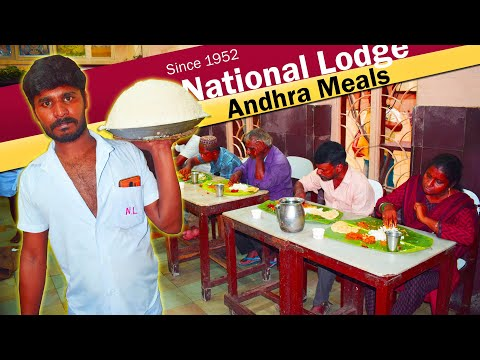 70 years of The National Lodge Andhra meals | MSF