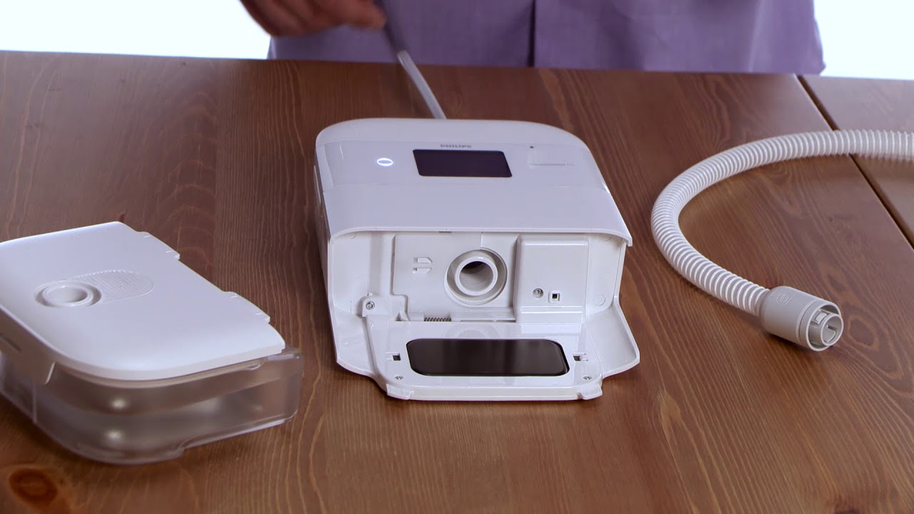 Setting up DreamStation CPAP Machines with a Humidifier