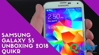 Refurbished ~ Samsung Galaxy S5 Unboxing & Hands on Overview 2018 ~ Quikr