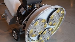 How to use LAVINA 30G-X concrete floor grinder