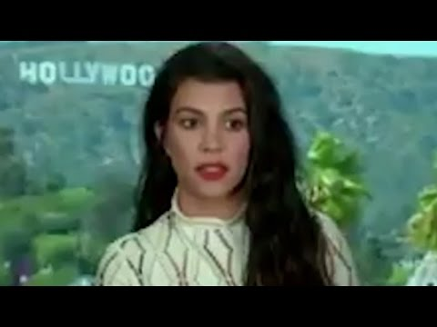 Kourtney Kardashian Freezes When Asked About Kim - Gives KUWTK Update