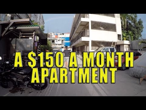 A $150 dollar a month apartment in Cebu City, Philippines.