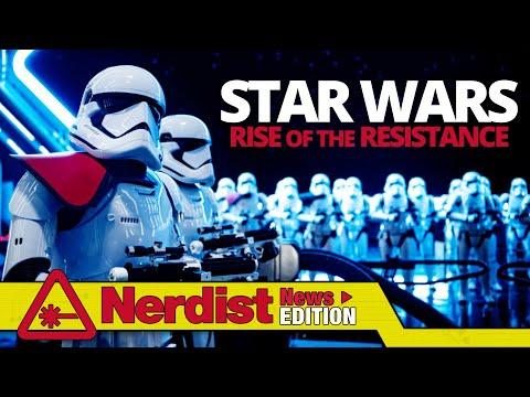 Is Star Wars: Rise of the Resistance Disneyland's Best Ride? (Nerdist News Edition)