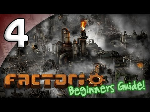 Factorio Beginner's Guide - 4. Military Matters - Let's Play Factorio Gameplay