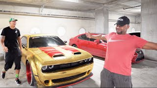 FATHER-IN-LAW DRIVES A HELLCAT FOR THE FIRST TIME! *VIRAL FUNNY*