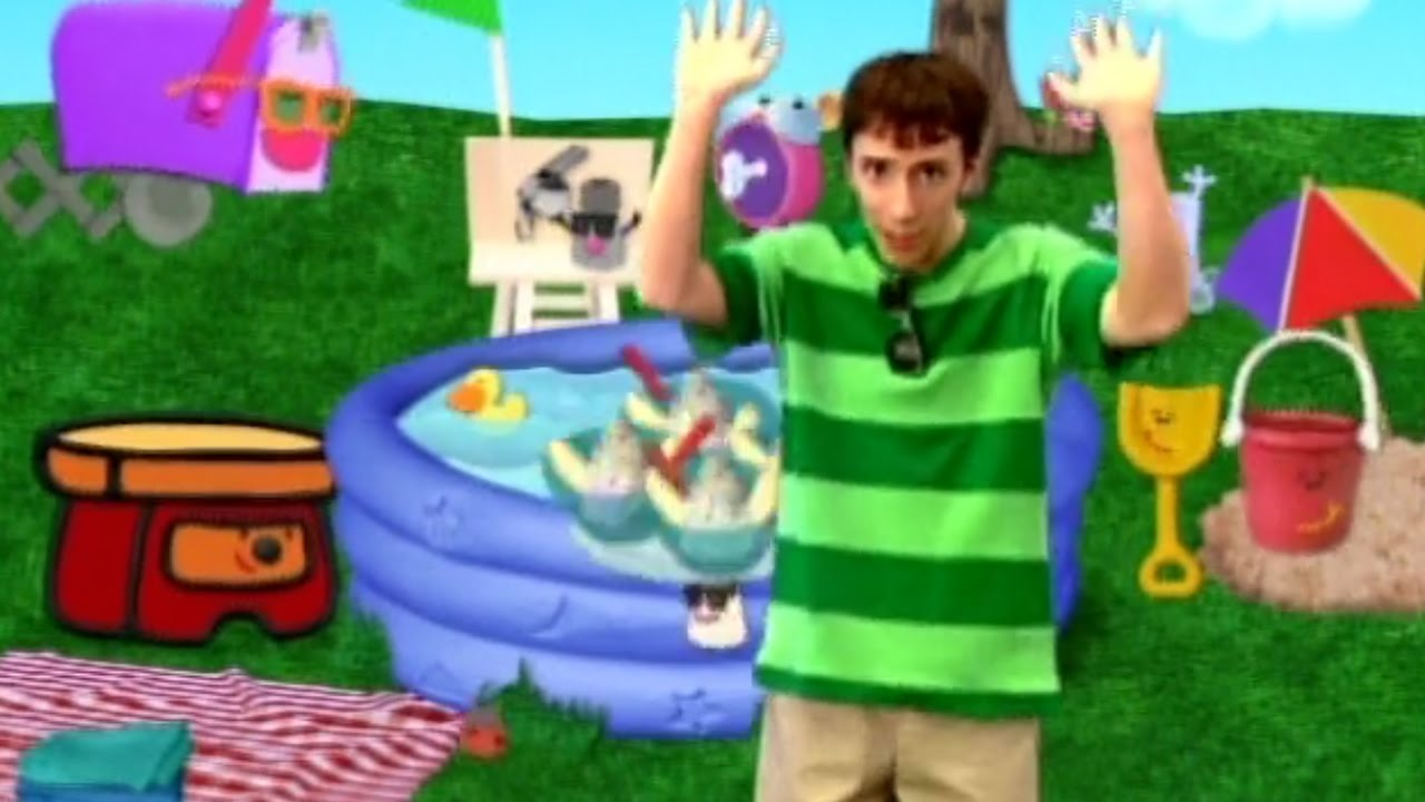 Blue 39 s clues blue 39 s pool party youtube - Pool and blues ...