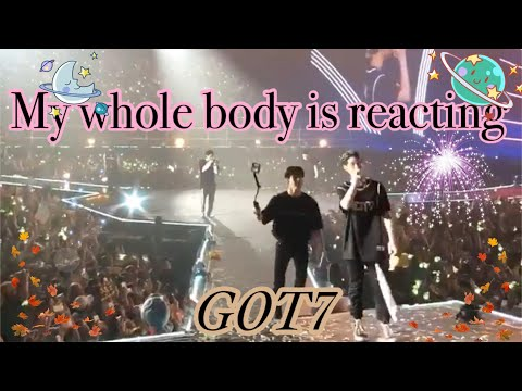 180513 - GOT7 | My whole body is reacting EyesOnYouInBKK D-3 EyesOnYouinBangkok D-3 Got7Worldtour