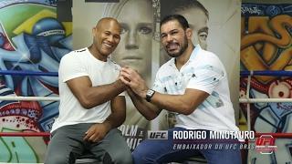 Corner: Rodrigo Minotauro entrevista Ronaldo Jacaré