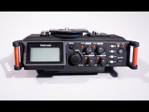 Zoom H6 Vs Tascam Dr 70d 4 Channel Recorder Doovi