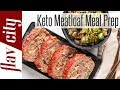 Low Carb Meat Loaf Recipe - Keto Diet Meal Prep For The Week