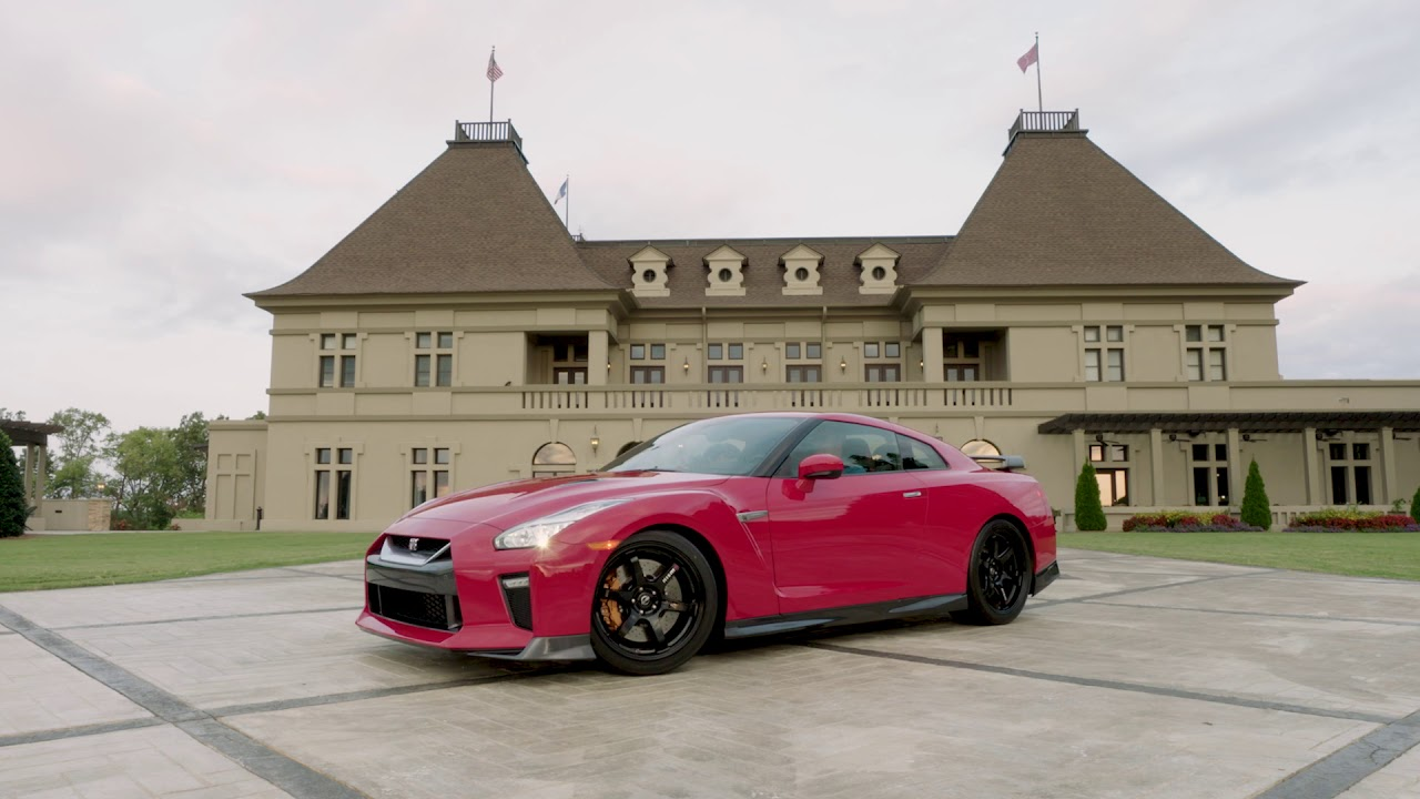2014 nissan gt-r track pack: godzilla levels up! Ignition.