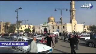 بالفيديو والصور.. تشييع جثمان الراحل 'إبراهيم بدران' من مسجد السيدة نفيسة
