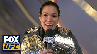Amanda Nunes speaks after historic victory over Cyborg | INTERVIEW | UFC 232