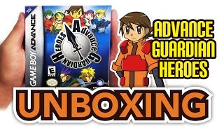 Advance Guardian Heroes (Game Boy Advance) Unboxing!!