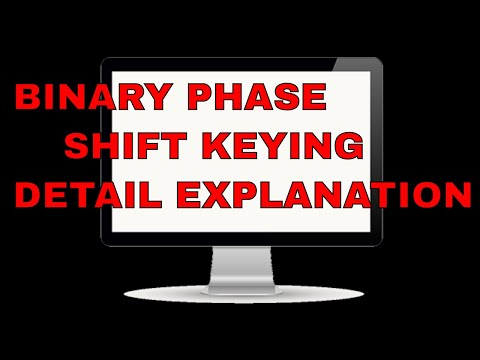 Binary phase shifting key details , generation as well as detection