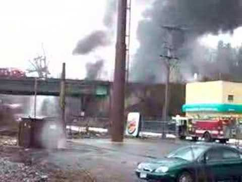 Tanker Explosion, Chicopee, MA