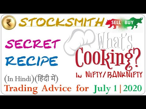 what's-cooking:-nifty-banknifty-itc-coalindia-bajfinance---secret-recipe-confirmed-[01-jul-2020]...