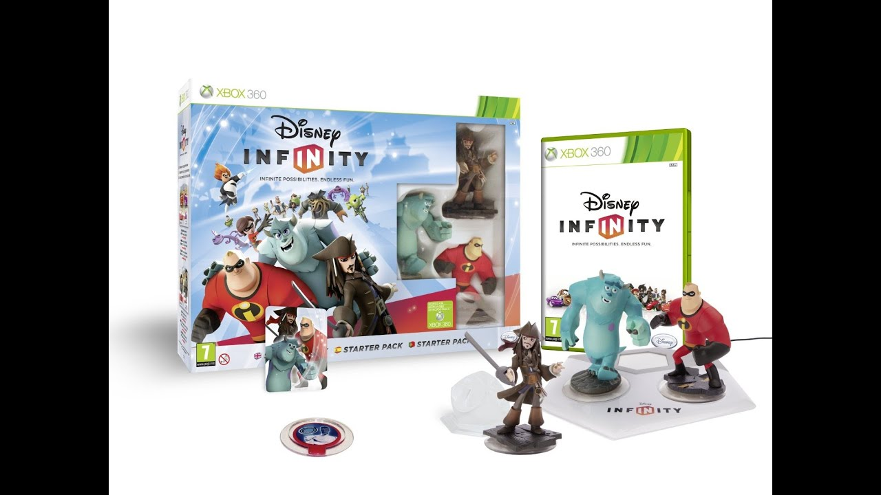 Infinity Boy And Girl Disney Infinity 1 0 Collection Youtube
