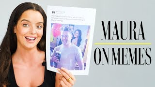 Maura Higgins reacts to the funniest Love Island memes | Maura on memes