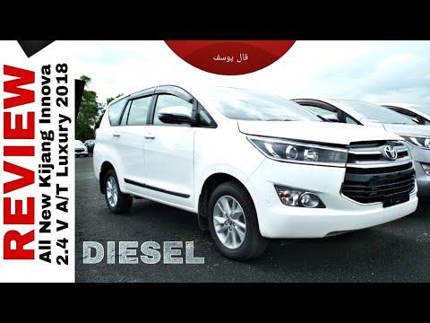 konsumsi bbm all new kijang innova diesel yaris 2018 trd cvt lebih hemat v toyota indonesia youtube auto2000 bjm