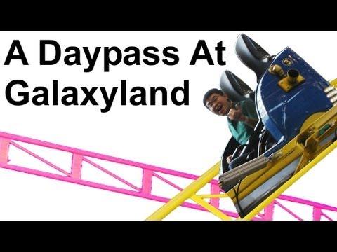 A Daypass at Galaxyland (West Edmonton Mall)