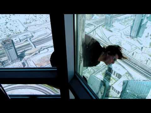 фрагмент фильма Миссия невыполнима: Протокол Фантом- Небоскрёб