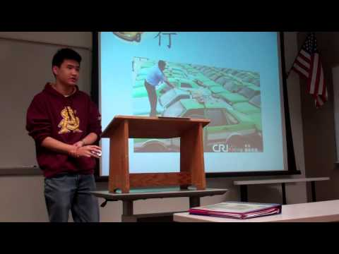 Informative Speech - Four Elements in the Chinese Culture