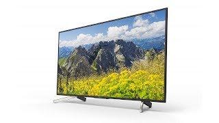 Sony BRAVIA KD-55X7500F 55 inch LED 4K TV Detail Specification