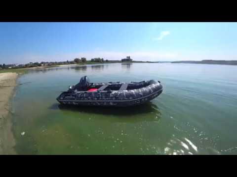 Обзор лодки Адмирал 335 camo, Пол-слань!!!